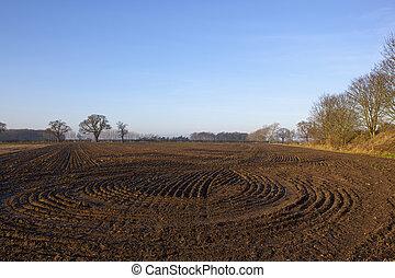 tierra, arado, patrones
