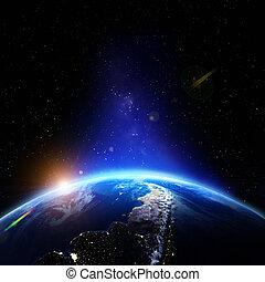 tierra de planeta, alivio
