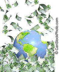 tierra, dinero