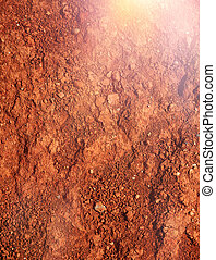 tierra, mars-type, red-brown