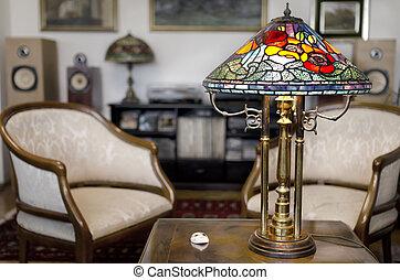 tiffany, lampe