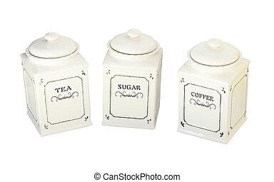 tigela, açúcar
