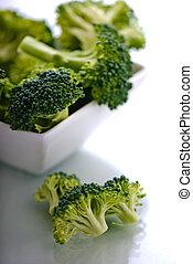 tigela, brócolos