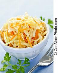 tigela, coleslaw