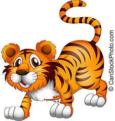 tiger, θέση , αγνοώ