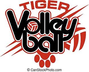 tiger, כדור עף