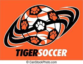 tiger, サッカー