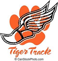 tiger, トラック
