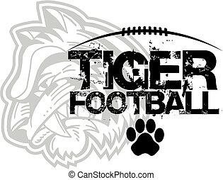 tiger, フットボール, デザイン
