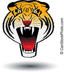 tiger, 怒り