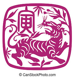 tiger, 黄道帯, 中国語, 年