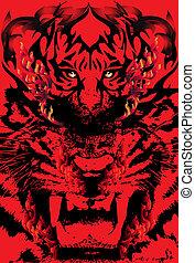 tiger-art
