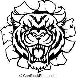 Tiger Background Breakthrough