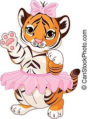 Tiger Ballerina