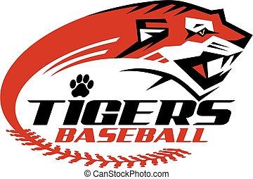 tiger, baseball