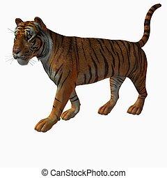 Tiger - 3D Render