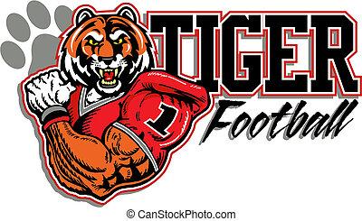 tiger football design  - tiger football design