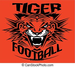 tiger, football