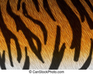 tiger fur - computer generated  for your projects