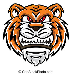 tiger, gezicht