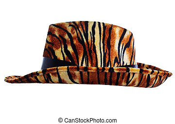 Tiger hat cut out