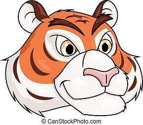 Tiger head illustration 2
