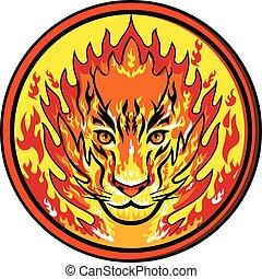 tiger-head-on-fire-CIRC