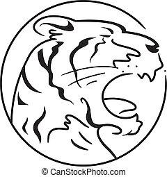 tiger, jahr