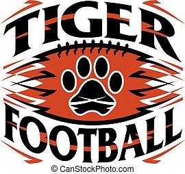 tiger, labdarúgás