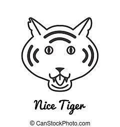 Tiger logo or icon