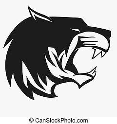 Tiger logo vector