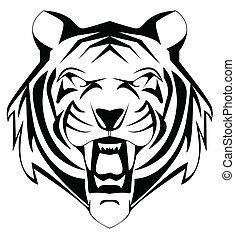 tiger, maskotka
