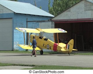 Tiger Moth Airplane - Tiger Moth, 1938,  Airplane