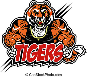 tiger, muskularny, podły