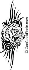 tiger, padrões