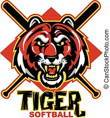 tiger softball