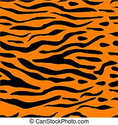 Tiger Stripe Seamless Background - Tiger stripe seamless...