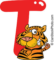 tiger, t