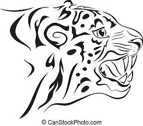 Tiger. tattoo