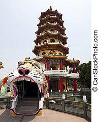 Tiger tower in Taiwan