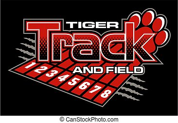 tiger track and field