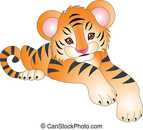 Tiger vector.