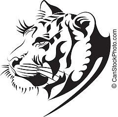 tiger vector2