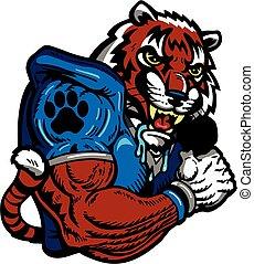 tiger, voetbal