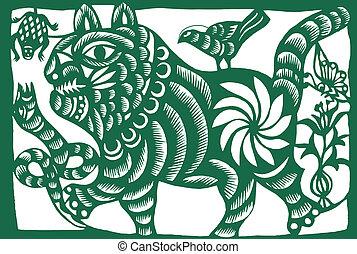 tiger, zodiac, chinees
