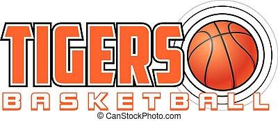 Tigers Basketball Design