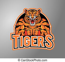 Tigers illustration design