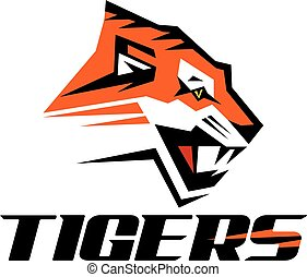 tigers logo design
