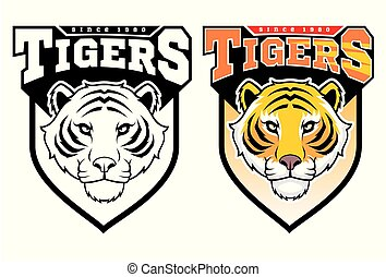 tigers., mascot