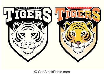 tigers., mascotte